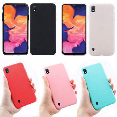 Slim Phone Case For Samsung Galaxy A10 Cover Shockproof Silicone Protector Shell