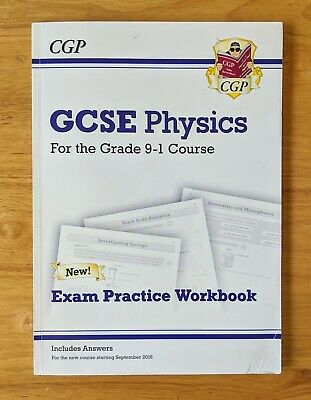 RRP £5.95 GCSE Physics (9-1) CGP Workbook with Answers