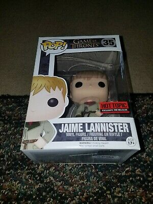 JAIME LANNISTER 35 Game of Thrones Funko Pop HOT TOPIC