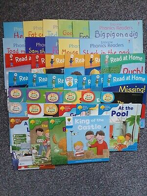Oxford Reading Tree Read With Biff Chip and Kipper.and read at home ( 40 books )