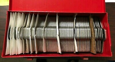 """New Precision Brand 5"""" x 5"""" Slotted Shim Size D Full Assortment Part# 42930"""