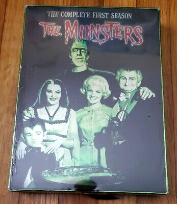"""The Munsters - The Complete First Season (DVD, 2004, 3-Disc Set) """"NEW"""""""