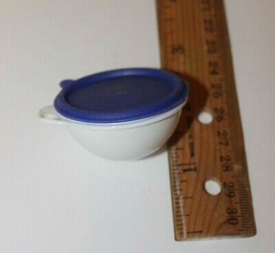 180703F-Tupperware Thatsa bowl miniature keychain covered salad bowl key ring