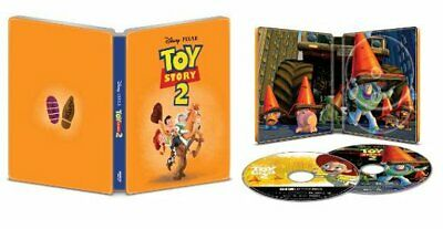 Disney Toy Story 2 4K Ultra HD + Blu-ray Limited Ed. Steelbook (VG)