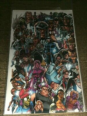 X-MEN 1 2019 Mark bagley EVERY MUTANT EVER Connecting Variant 2019 NM NEW