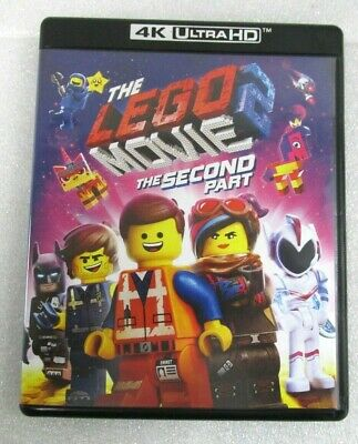 The Lego Movie 2 The Second Part 4K Ultra Hd/Bluray 2 Disc Set
