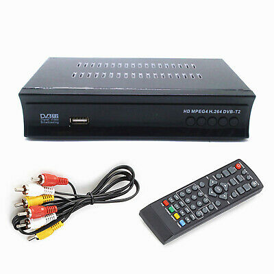 DIGITALE TERRESTRE RICEVITORE HDTV set top box 1080P HDMI DVB-T2 H.265 USBPVR