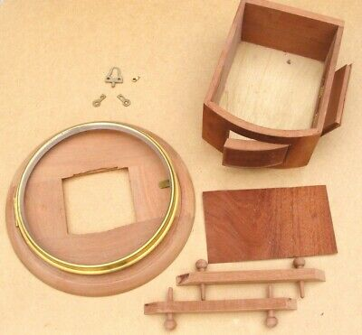 ref:13266       New 10 inch fusee dial clock case kit.