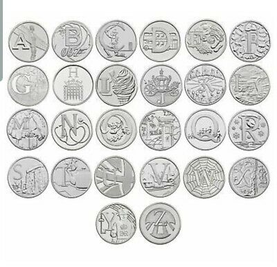 10 Pence A-Z Uncirculated Coins 2018