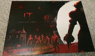ODEON A4 POSTER - 'IT chapter two'. Red and black, gloss. BRAND NEW