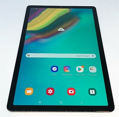 "Samsung Galaxy Tab S5e 10.5"" 64GB Black Tablet SM-T720 SM-T720NZKAXAR 2019"