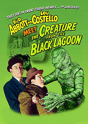 Abbott and Costello Meet the Creature from the Black Lagoon (DVD, 2017)