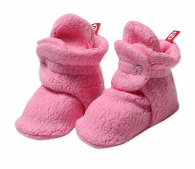 Zutano Cozie HOT PINK Fleece Booties FREE SHIPPING