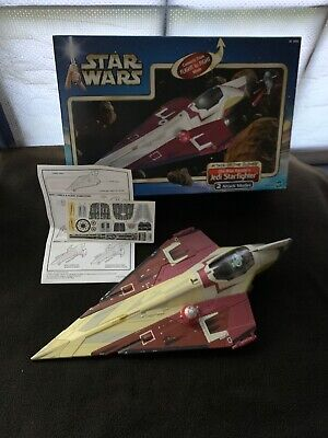 2001 Hasbro Star Wars: Attack of the Clones Obi-Wan Kenobi's Jedi Starfighter