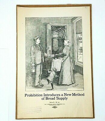 Prohibition Poster Prohibition Whiskey Vintage Propaganda Advertising Print