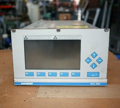 Fisher Rosemount Analytical NGA 2000 MLT1.2IR-UV C02 SO2  gas analyzer module