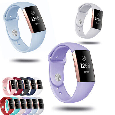 Wristbands Bracelet Silicone Replacement Strap Watch Band For Fitbit Charge 3