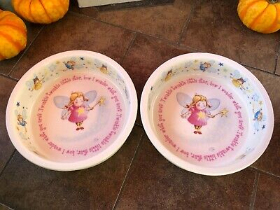 Childrens 1890 Anderton Pottery England Twinkle Twinkle Little Star Fairy Bowl