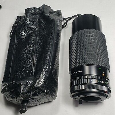 SEARS 80-200mm ZOOM F4.0 MACRO LENS fits Canon Camera Excellent Condition