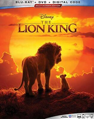 Lion King (Blu-Ray) LIVE ACTION-NOW SHIPPING
