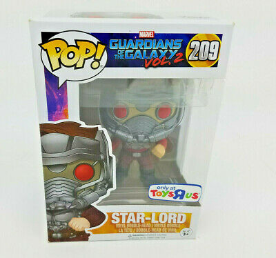 Funko POP Marvel Guardians of Galaxy Star-Lord 209 Toys R Us Exclusive PROTECTOR
