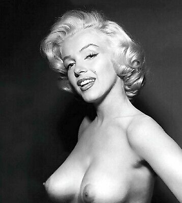 Vintage Marilyn Monroe Nude Pin Up Photo 875 Oddleys Strange & Bizarre 4 x 6