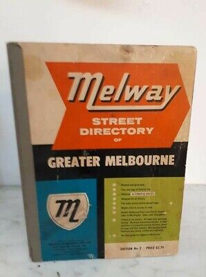 Vintage Melway Greater Melbourne Street Directory Edition No. 2