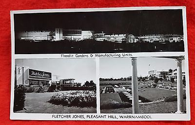 Photo Photograph Post Card Fletcher Jones Pleasant Hill Warrnambool Australia