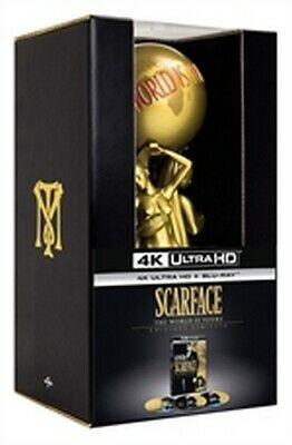 Scarface - The World is Yours - Edizione Limitata (4K Ultra HD + 2 Blu-Ray Disc)