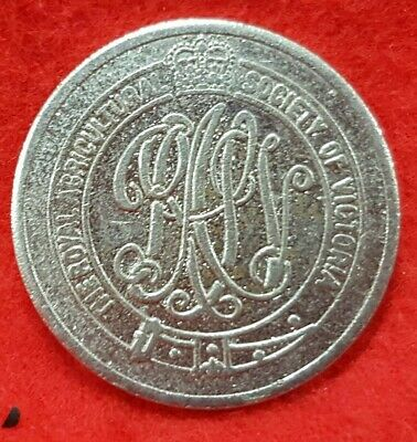 Royal Agricultural Society Of Victoria Token Admit One Child