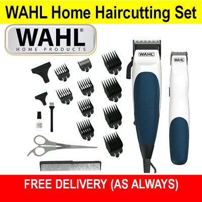 WAHL Electric Hair Clippers Beard Trimmer Mens Boys Haircut Clipper Grooming Kit