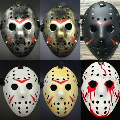 Jason Voorhees Friday The 13th Halloween Scary Mask Cosplay Costume Party Mask
