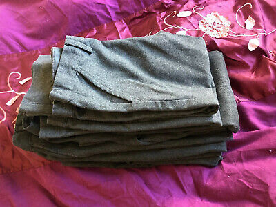 Boys Bundle Job Lot Of Grey School Trousers Age 4 -5 and 5 - 6 Years **  6 Pairs