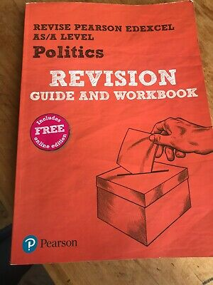 Politics, AS/Alevel, Edexcel Revision guide and workbook