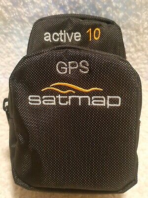 SATMAP Active 10 GPS Deluxe Carry Case padded with zipped pockets MINT