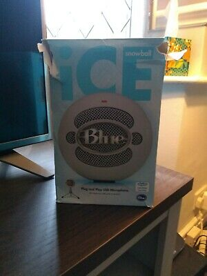Blue Microphones Snowball iCE USB Cardioid Microphone - White