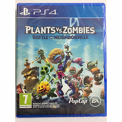 Plants Vs Zombies Battle For Neighborville PS4 IN STOCK New & Sealed