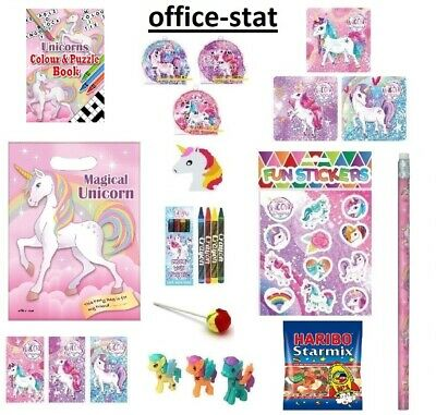 Pre Filled Unicorn Party Bags Girls Gifts Kids Goody Loot Favours Min Order 5