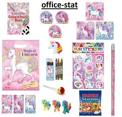Unicorn Pre Filled Party Bags Girls Boys Gifts Kids Toys Favours Loot Birthday