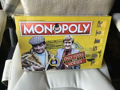 Hasbro Monopoly Only Fools And Horses Board Game 8+ 2-6 Players Bnib