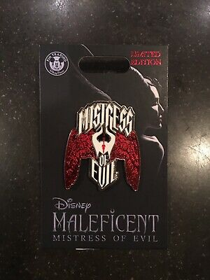 Disney Parks Maleficent Mistress Of Evil Live Action Pin LE2000 In Hand
