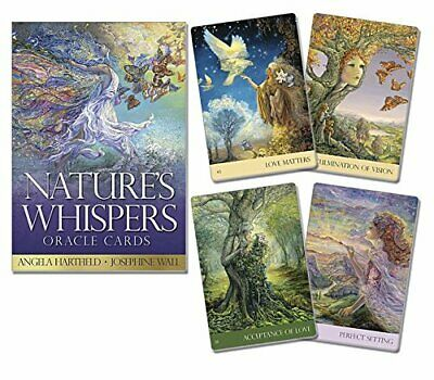 Natures Whispers Oracle Cards Wiccan Pagan Metaphysical