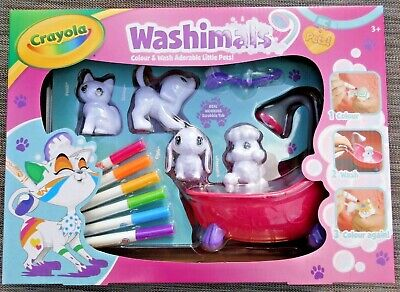 CRAYOLA Washimals Set Age 3+ years ADORABLE & FUN *CHEAPEST NEW*