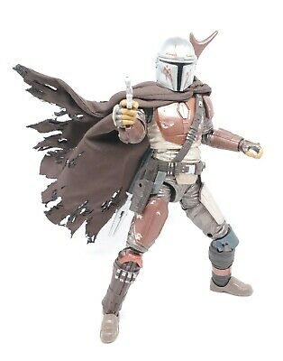 Dark Brown Cape for Star Wars Black Series The Mandalorian (No Figure)
