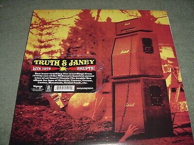 Truth And Janey  Live 1976 Erupts   2 Lps    Poster  , 70S Hard Rock