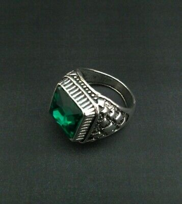 EXTREMELY ANTIQUE OLD VINTAGE RARE VIKING ETHNIC SILVER Handcraft Quality RING