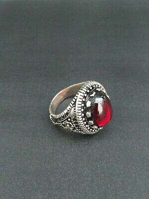 ANTIQUE HANDMADE OLD VINTAGE RARE VIKING ANCIENT SILVER handcraft Quality RING