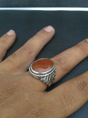 ANTIQUE OLD VINTAGE RARE ANCIENT VIKING ETHNIC SILVER HANDCRAFT Quality RING
