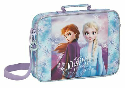 Disney Frozen 2 Girls Messenger Shoulder Book Bag 38cm OFFICIAL 2019 Movie