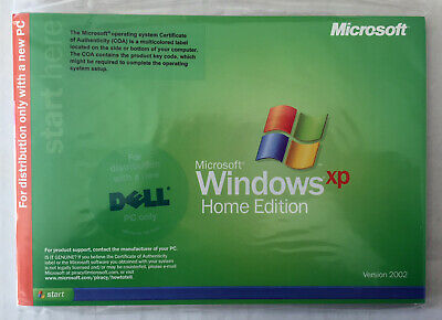 Microsoft Windows XP Home Edition 2002 New DVD Product Key